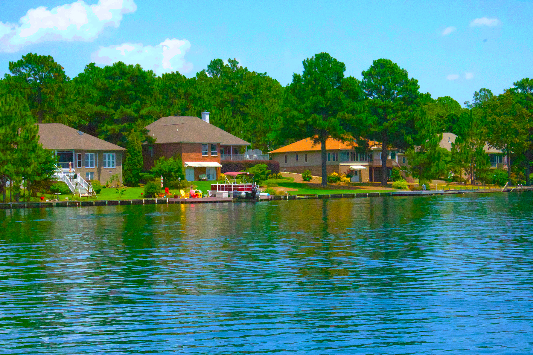 Pinehurst Lakefront and Waterfront Property