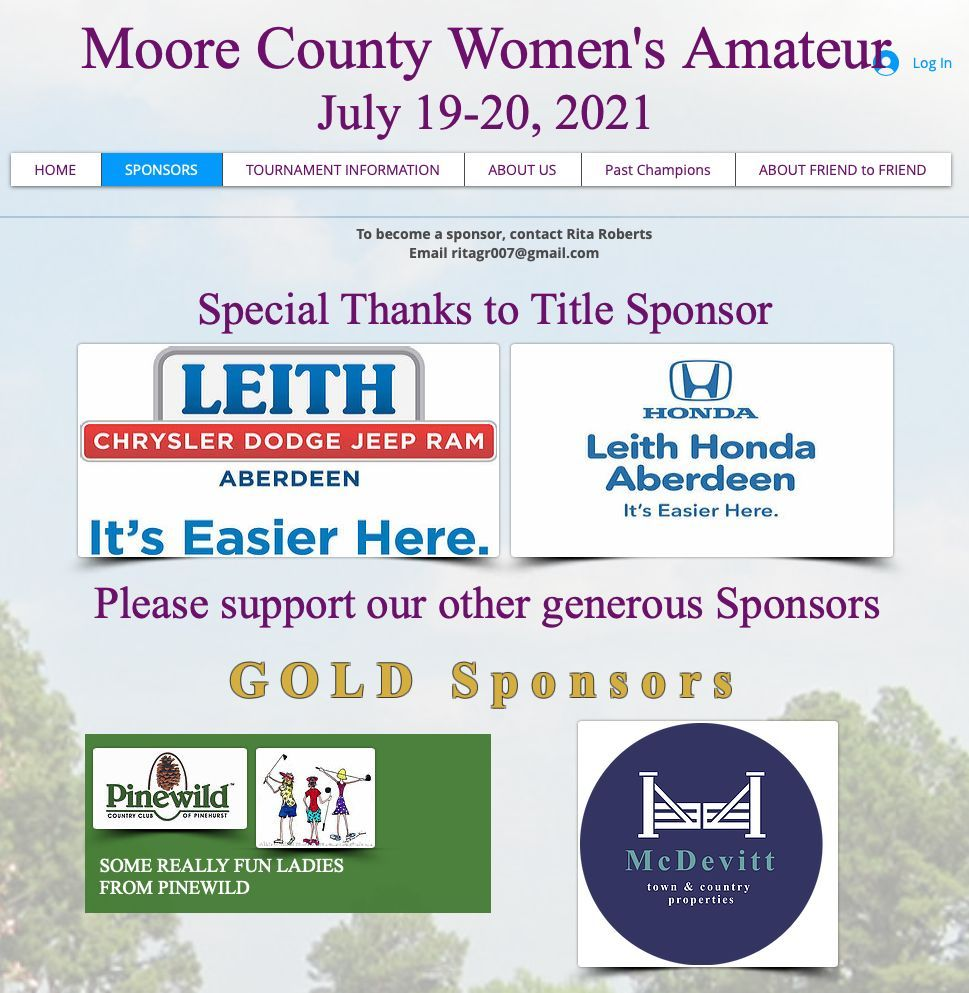 Moore County Womens Amateur