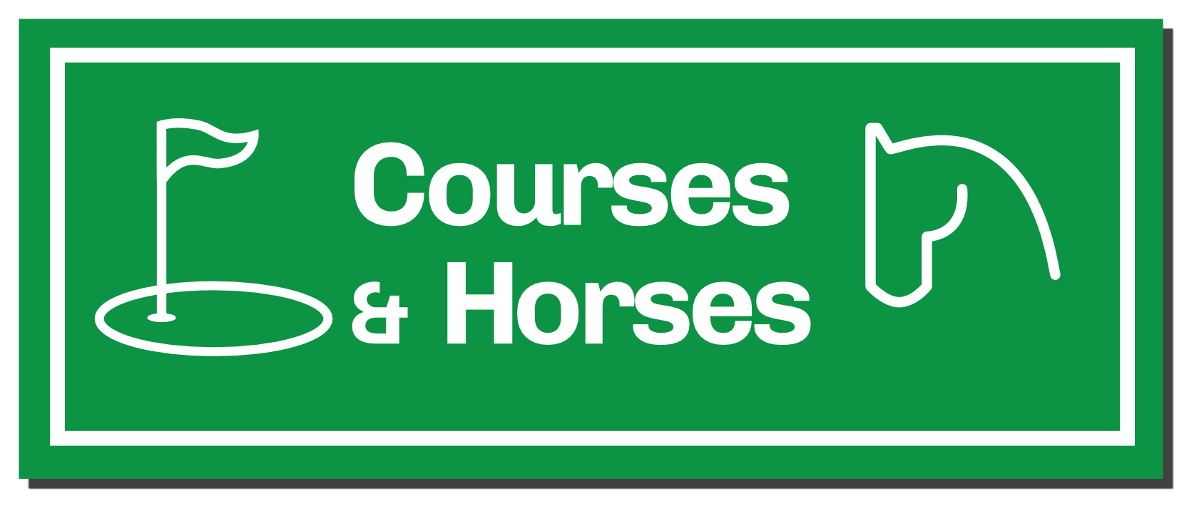 Courses and Horses Blog